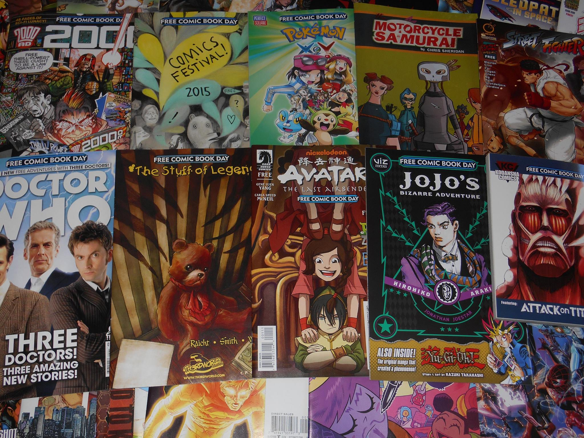 Avatar Comic Book Day 2015