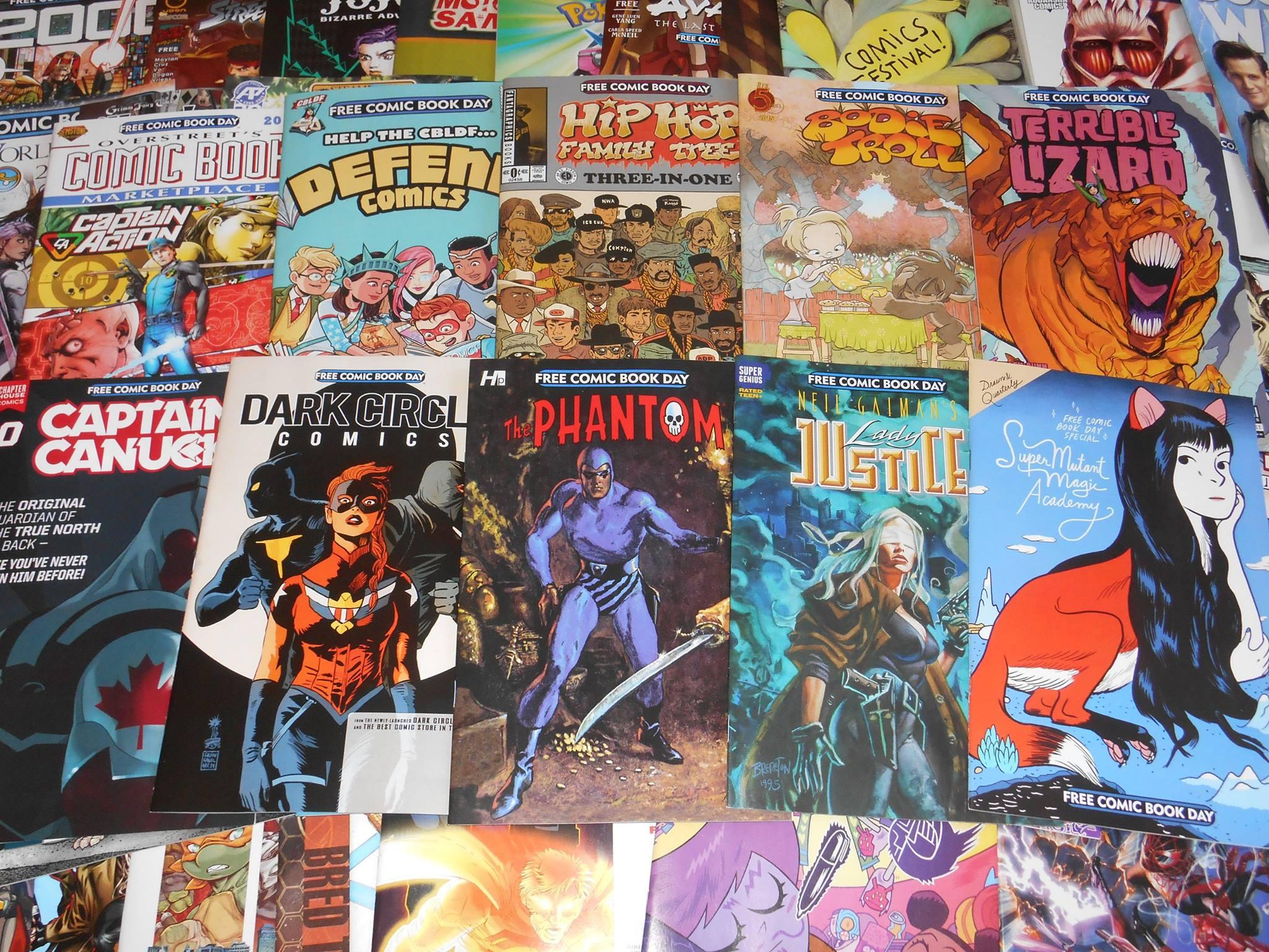 free comic book day - the phantom