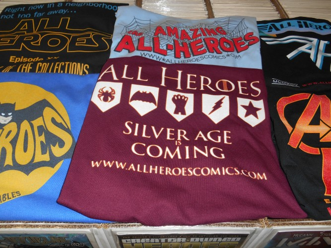 the All Heroes t-shirts !!!